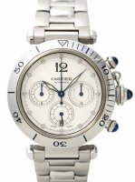 Replique Cartier Pasha 38mm Chronograph W31030H3 Montre