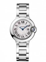 Replique Cartier Montre Ballon Bleu 28mm w69010z4