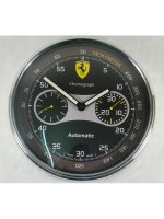 Replique Ferrari Horloge murale with Yellow Dial