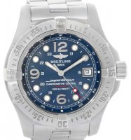 Replique Breitling Superocean Steelfish Watch bleu cadran