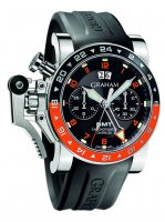 Replique GMT Oversize Chronofighter - Red and Black Bezel 2OVASGM