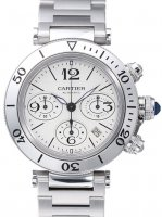 Replique Cartier Pasha Seatimer Chronograph w31089m7 Montre