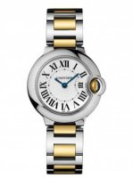 Replique Cartier Montre Ballon Bleu 28mm w69007z3