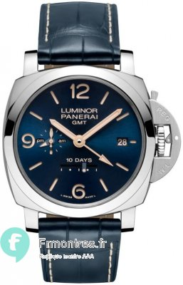 Replique Panerai Luminor 1950 10 journees GMT Acciaio 44mm PAM00689