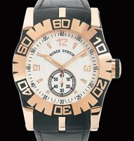 Replique Roger Dubuis Easy Diver Automatic (PG / Ivory / Leather