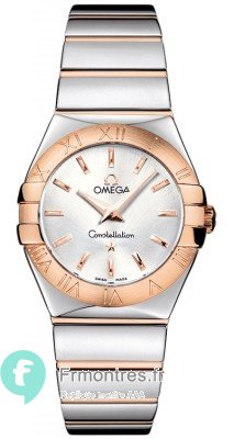 Replique Omega Constellation Polished 27mm Dames Montre 123.20.27.60.02.003