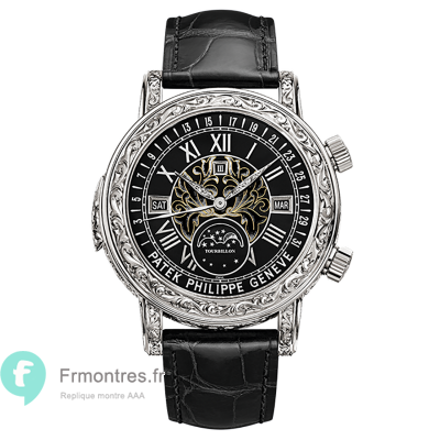 Replique Patek Philippe Gret Complications Sky Moon Tourbillon 6002G-010