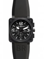 Replique Bell & Ross BR01-94 Chronograph 46mm Montre BR01-94 Carbo