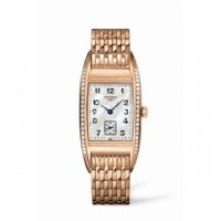 Replique Longines BelleArti 24.6 Or rose Diamant Montre Femme L2.501.9.83.6