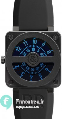 Réplique Bell & Ross Aviation BR01-92 COMPASS BLUE Montre