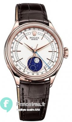Replique Rolex Cellini Moonphase Montre Homme 50535