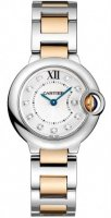 Replique Cartier BTouton Bleu 28mm dames WE902030
