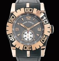 Replique Roger Dubuis Easy Diver Automatic (PG / Gray / Leather S