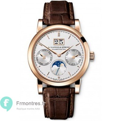Replique A.Lange & Sohne Saxonia Or rose 330.032