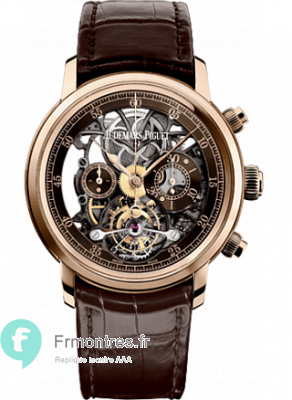 Replique Audemars Piguet Jules Audemars Tourbillon 26346OR.OO.D088CR.01
