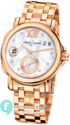 Replique Ulysse Nardin Dual Time Dames Montre 246-22-8/391