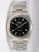 Réplique Rolex Oyster Perpetual Air King Black Dial With