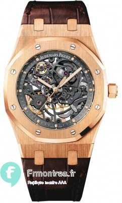 Replique Audemars Piguet Royal Oak Or rose Openworked 15305OR.OO.D088CR.01