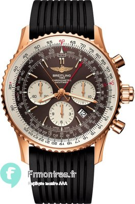 Replique Breitling Navitimer Rattrapante Or Rouge RB031121/Q619/252S/R20D.2