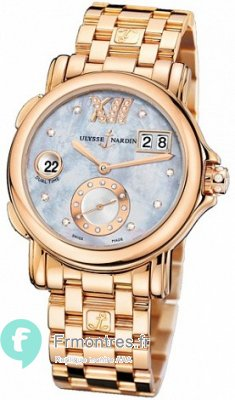 Replique Ulysse Nardin Dual Time Dames Montre 246-22-8/392