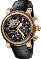 Replique Graham Tourbillograph Silverstone Woodcote hommess Montre 2T