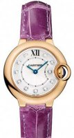Replique Cartier BTouton Bleu 28mm dames WE902050
