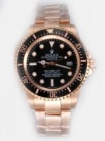 Replique Rolex Oyster Perpetual Sea Dweller Black Dial Bl