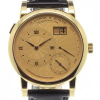 Réplique A Lange and Sohne 112.021 Lange 1 A guilloche gold dial 112.021
