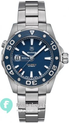 Replique TAG Heuer Aquaracer 500M Calibre 5 43mm WAJ2112.BA0870