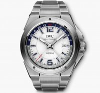 IWC Ingenieur Dual Time Montre blanc Dial IW324404