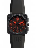 Replique Bell & Ross BR01-94 Chronograph 46mm Montre BR01-94 Red