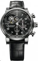 Replique Graham Silverstone Tourbillograph hommess Montre 2TSAS.B02A