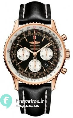 Replique Breitling Navitimer 01 43MM Or Rose RB012012/BA49/435X