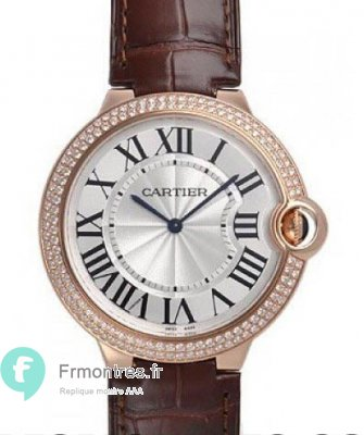 Replique Cartier BTouton Bleu de Cartier 40mm en or rose Diamant montre WE902055