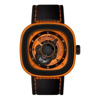 Replique SevenFrijournee P1-3 en /PVD/Orange montre