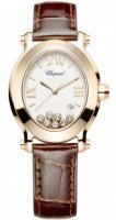 Chopard Happy Sport Oval Quartz Dames 275350-5001