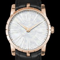 Réplique Roger Dubuis Excalibur 42 Automatic Mother-of-Pearl RDDB