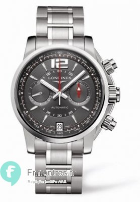 Replique Longines Admiral Gris L3.666.4.79.6