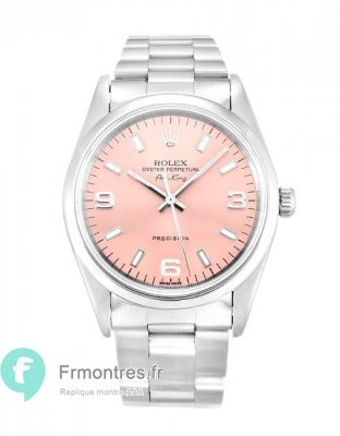 Replique Rolex Air-King Rose Trimestre Arabe Unisexe 14000