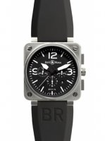 Replique Bell & Ross BR01-94 Chronograph 46mm Montre BR01-94 Steel
