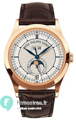 Replique Patek Philippe Complicated Or rose Hommes 5396R