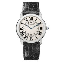 Réplique Cartier Ronde Quartz Solo 36mm dames W6700255
