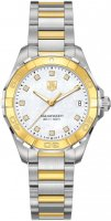 TAG Heuer Aquaracer Dames 300M Acier & Jaune Or32 WAY1351.BD0917