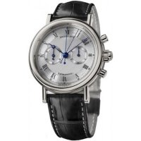 Breguet Classique Split Second Chronographe Or blanc 5947BB/12/9V6