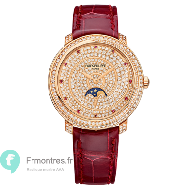 Replique Patek Philippe Complications Diamant Ribbon Joaillerie Dames 4968/400R-001