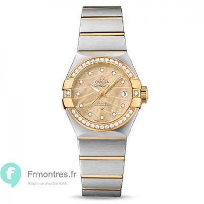 Replique Omega Constellation 27 MM 123.25.27.20.57.002 montre