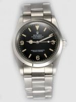 Réplique Rolex Explorer French Black Dial With Bar And Ar