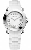 Chopard Happy Sport Rond Quartz 36mm Dames 278475-3016