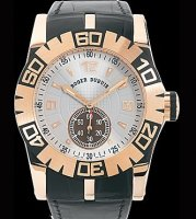 Replique Roger Dubuis Easy Diver Automatic (PG / Silver / Leather