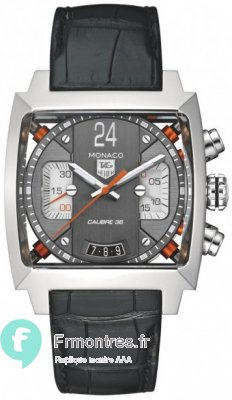 Replique TAG Heuer Monaco 24 Calibre 36 40.5 mm CAL5112.FC6298